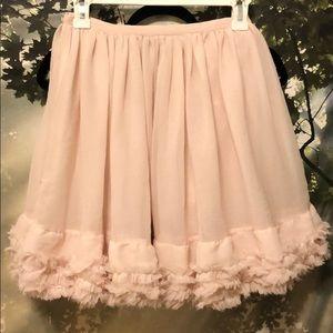 Flirty, romantic skirt.